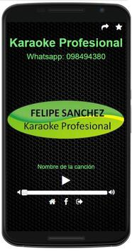 Karaoke Profesional apk screenshot