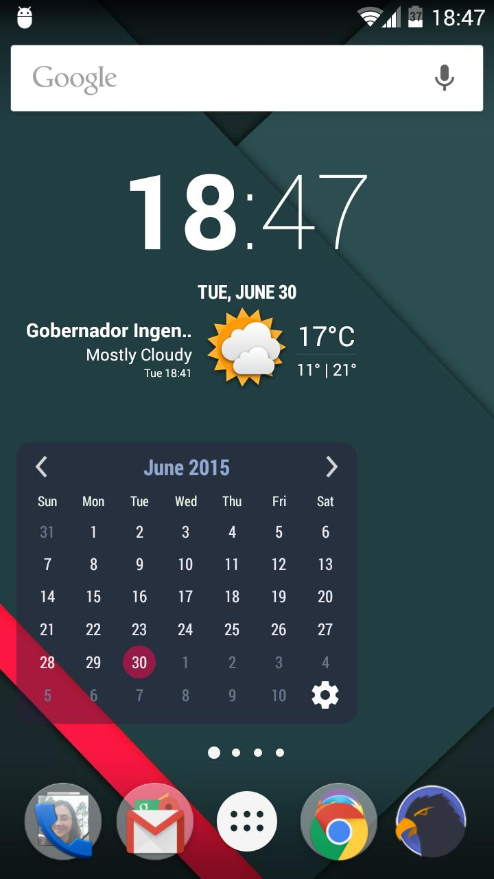 Month Calendar Widget for Android - APK Download