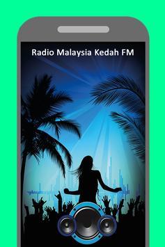 Radio Malaysia Kedah FM poster
