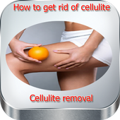 How to get rid of cellulite. Cellulite removal icon