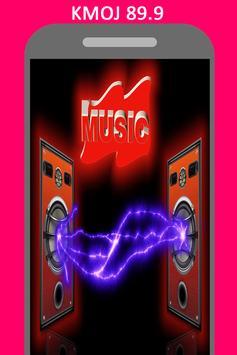 Radio for KMOJ 89.9 FM Station Minnesota poster