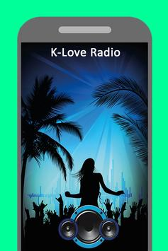 Radio for K-Love Christian Station  App free poster