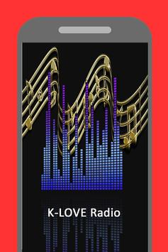 Radio for K-Love Christian Station  App free screenshot 1