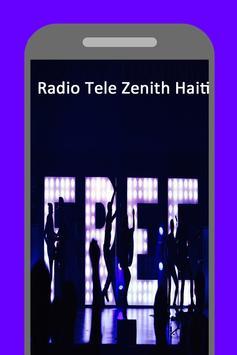 Station FM 102.5 Radio Tele Zenith Haiti poster