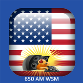 Radio for 650 AM WSM  Station Country Music icon