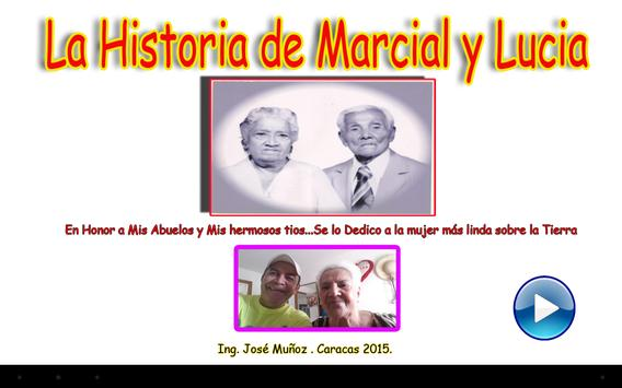 History of Marcial and Lucia poster