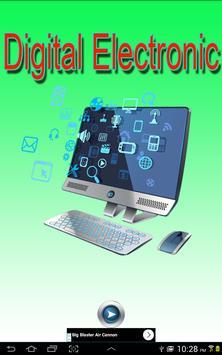 Digital Electronic poster