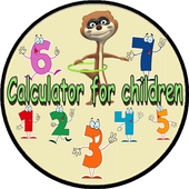 Calculator for Kids Free icon
