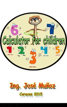 Calculator for Kids Free poster