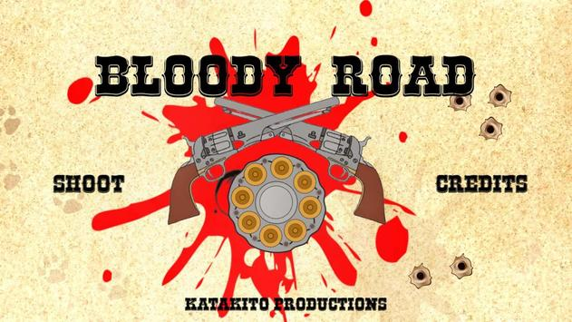Bloody Road poster