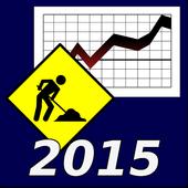 2015 Labor Statistics icon