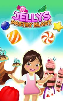 Jellys Pastry Blast Free Match 3 Game poster