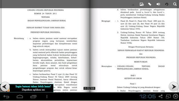 UU 24 TAHUN 2011 - BPJS apk screenshot
