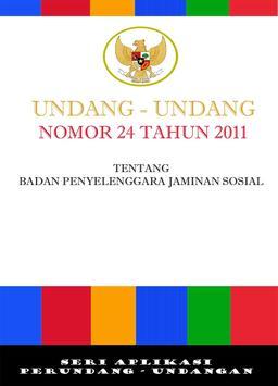 UU 24 TAHUN 2011 - BPJS poster