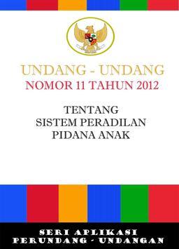 UU Sistem Peradilan Anak poster