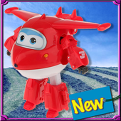 Super Robo Wings Puzzle icon
