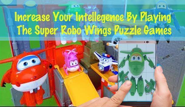 Super Robo Wings Puzzle screenshot 3