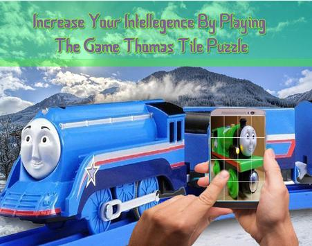 Thomas Tile Puzzle screenshot 1