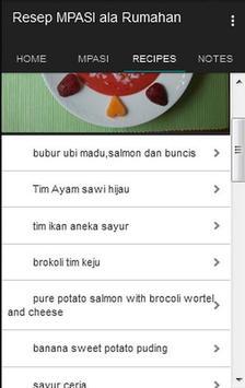 Resep Makanan Pendamping ASI apk screenshot