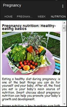 Pregnancy apk screenshot