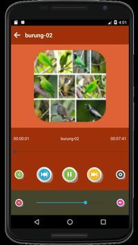 999+ Suara Kicau Burung Pemikat Juara Mp3 Offline screenshot 3