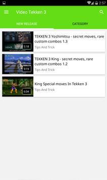 Video Tekken 3 poster