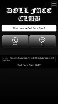 Doll Face Club poster