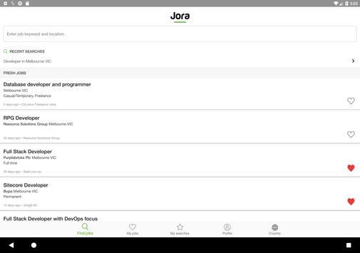 Jora screenshot 6