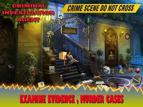 Criminal Investigation Agent poster