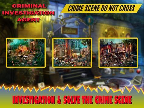 Criminal Investigation Agent apk screenshot