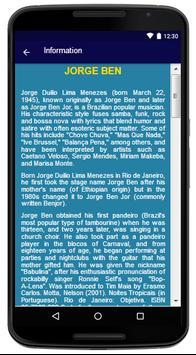 Jorge Ben - Song and Lyrics apk screenshot