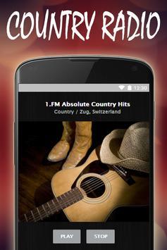 Country Music Radio Stations screenshot 5