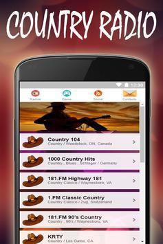 Country Music Radio Stations screenshot 6