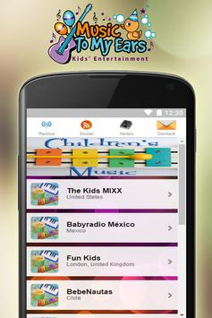 Kids Radio Station For Free apk screenshot