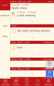 Jorte Agenda apk screenshot
