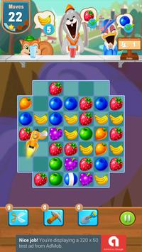 Candy and Fruits Juice Smach - Best Match 3 Game screenshot 4