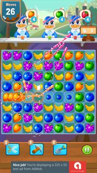 Candy and Fruits Juice Smach - Best Match 3 Game screenshot 13