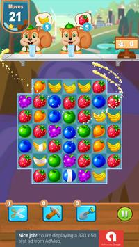 Candy and Fruits Juice Smach - Best Match 3 Game screenshot 20
