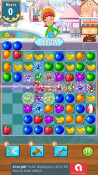 Candy and Fruits Juice Smach - Best Match 3 Game screenshot 3