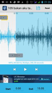 MP3 CUTTER PRO apk screenshot