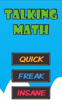 TALKING MATH poster