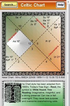 Free Celtic Lunar Astrology poster