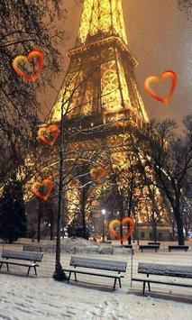 Valentine Paris live wallpaper screenshot 1