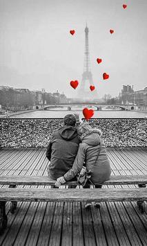 Valentine Paris live wallpaper screenshot 2