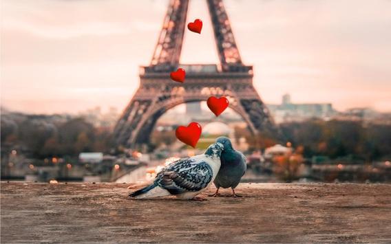 Valentine Paris live wallpaper screenshot 3