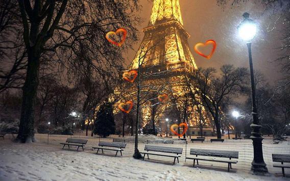 Valentine Paris live wallpaper screenshot 4