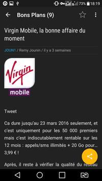 Joun1 - Un Blog ConsommActeur apk screenshot