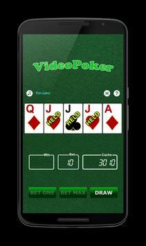 VideoPoker apk screenshot