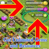 Unlimited Gems Clash of Clans icon