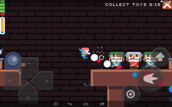 Christmas pixel platformer screenshot 7